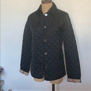 Burberry Children girls quilted jacket